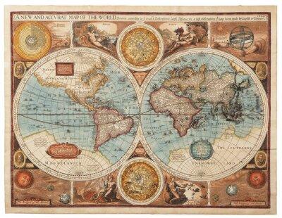 Fotomural Antiguo mapa (1626)