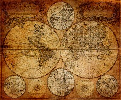 Fotomural Antiguo mapa (1746)