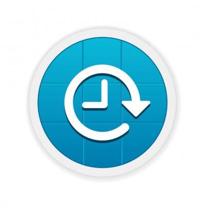 Fotomural Aplicación del botón Moderno