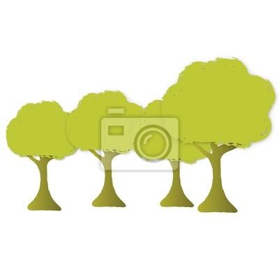 Fotomural arbres