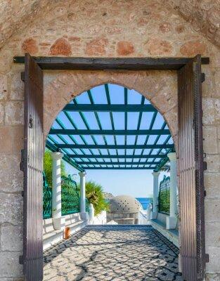 Fotomural Arco en la fortaleza