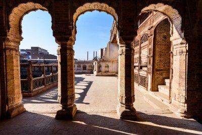Fotomural Arcos de edificio antiguo