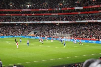 Fotomural Arsenal ganó 1-0 contra el guardabosques Reina Parque