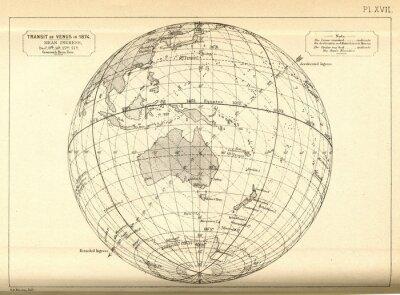 Fotomural Astronomía de la vendimia / tránsito de Venus