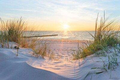 Fotomural Atardecer en el mar Báltico