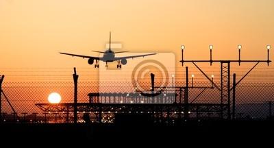 Fotomural aterrizaje