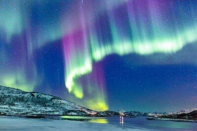 Fotomural Auroras boreales