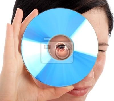 Fotomural azul cd