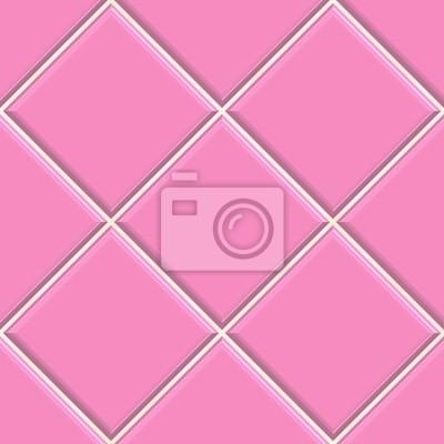 fotomural azulejos de color rosa seamless textura de fondo la cocina o el bao conc - Azulejos Rosa