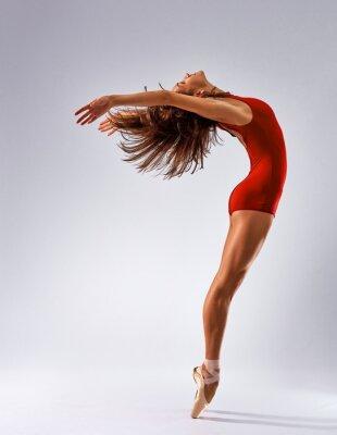 Fotomural bailarín de la bailarina