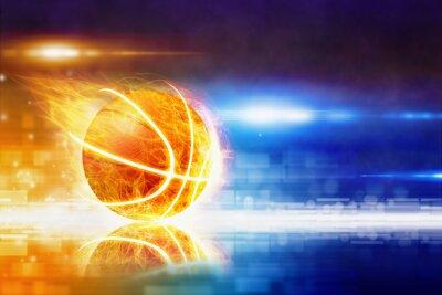 Fotomural Baloncesto caliente
