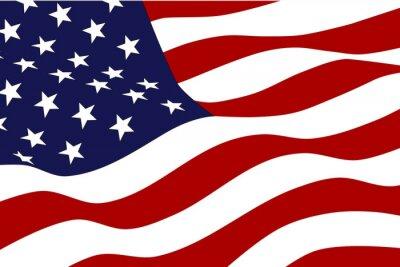Fotomural Bandera de Estados Unidos