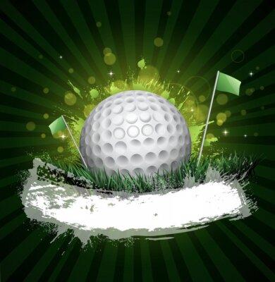 Fotomural bandera de golf