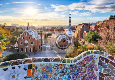 Fotomural Barcelona - Parque Guell, España