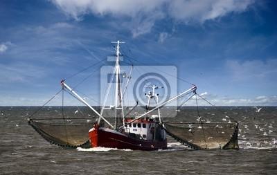 Fotomural Barco de pesca