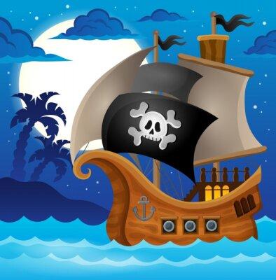 Fotomural Barco pirata tema image 2