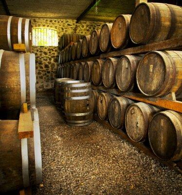 Fotomural Barriles de vino