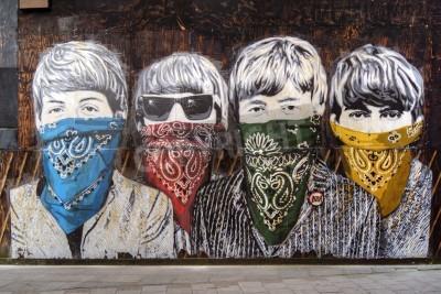 Fotomural Beatles