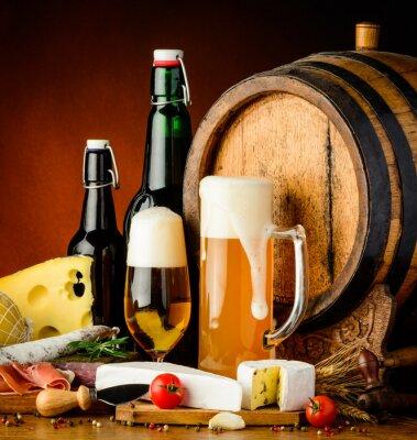 Fotomural bebidas de cerveza