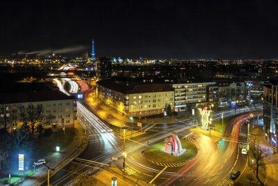 Fotomural Berlin vida de la ciudad en la noche