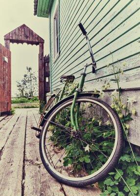 Fotomural Bici vieja retro.