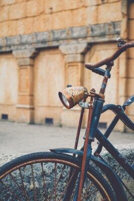 Fotomural Bicicleta vieja oxidada