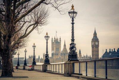 Fotomural Big Ben y las Casas del Parlamento, Londres