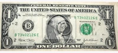 Fotomural Billete de un dólar