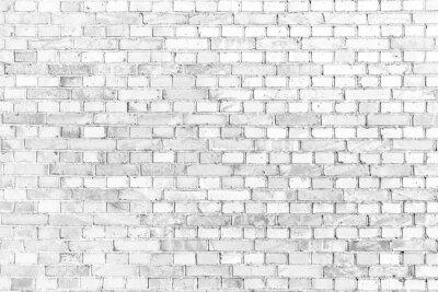 Fotomural Blanco de la pared de ladrillo