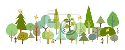 Fotomural bosque-A