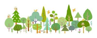 Fotomural bosque-D