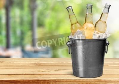 Fotomural Botella de cerveza.