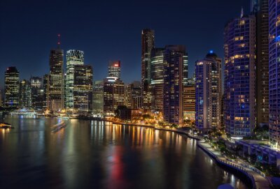 Fotomural Brisbane Waterfront