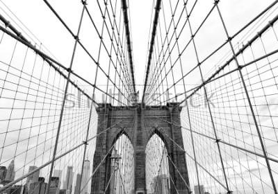 Fotomural Brooklyn Bridge in New York City, USA