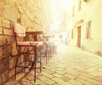 Fotomural Café al aire libre