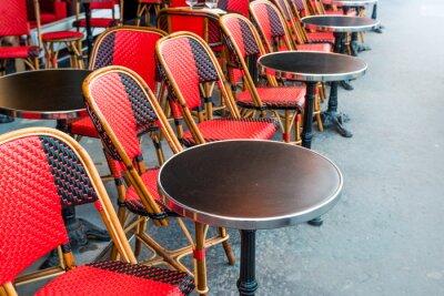 Fotomural café parisino tradicional