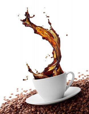 Fotomural café salpicaduras