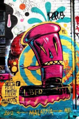 Fotomural Calle Los Ángeles, Melbourne