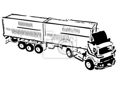 Fotomural camión