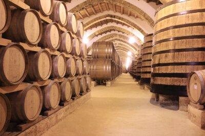 Fotomural Cantina florio vino di marsala