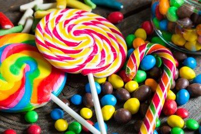Fotomural Caramelo colorido