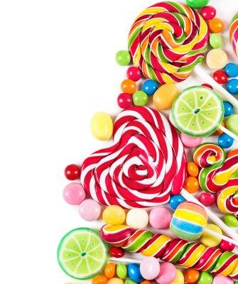 Fotomural Caramelos coloridos