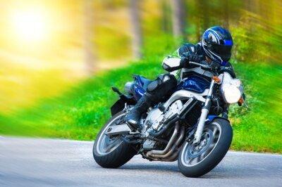 Fotomural Carreras de motos dinámicas