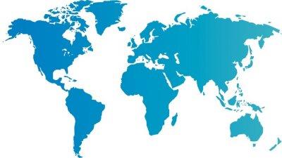 Fotomural carte du monde