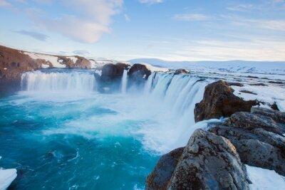 Fotomural Cascada de Godafoss, Islandia