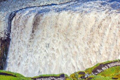 Fotomural Cascada de gran alcance Dettifoss