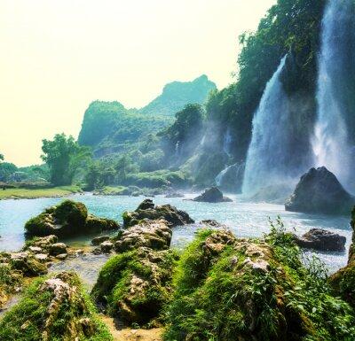 Fotomural Cascada en Vietnam