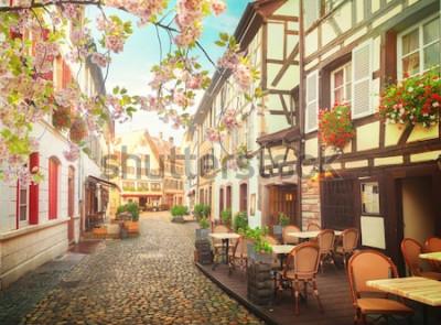 Fotomural Casco antiguo de Estrasburgo, Francia