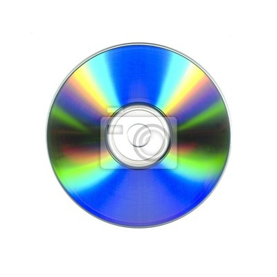 Fotomural cd en blanco