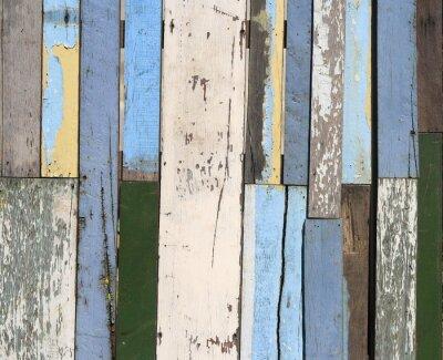 Fotomural Cerca de madera vieja